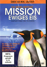 Missione Ewiges Gelato Segreti der Antartide SEDNA Documentazione Pinguino,ecc