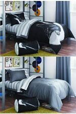 8pc Full Sized Guitar Rock N Roll Youth Teen Comforter Set Reversible Bedding