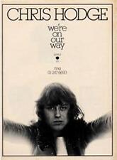 Chris Hodge We're On Our Way Apple Records advert Time Out cutting 1972