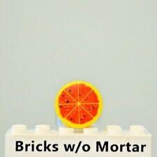 New Genuine LEGO Yellow Pizza Tile Food Kitchen