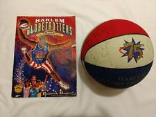 Autographed basketball & program from the 2000 world tour Harlem Globtrotters