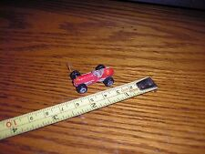 "Vintage Micro Machines ? 1 1/4"" Long IRL Indy Grand Prix F1 Racer Race Car RED"
