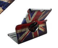 "New iPad 2017 9.7"" Rotating 360 Swivel Case Stand (iPad AIR 5) British UK Flag"