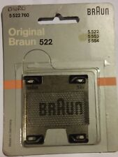 Braun Shaver Foil 522 (5 522 760) for 5 522/ 5 553/ 5 554, new, old shop stock
