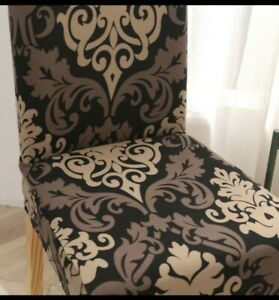 1) Chair Slip Cover For Dinning Room Seat Table Strech Wedding Banquet Cover