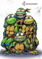 TMNT THE LAST RONIN #1 Justan Roiland Exclusive VIRGIN PreSale Ltd 300