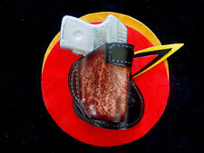 Ruger LCP Crimson Trace paddle holster burnish brown Kwik & Free