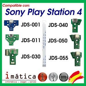 CONECTOR DE CARGA PARA MANDO PLAY STATION 4 PLACA CORRIENTE MICRO USB PS4 + FLEX