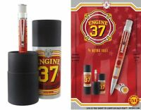 Retro 51 Engine 37 Tornado Popper Rollerball  -New Sealed, Ltd Ed., Firefighters