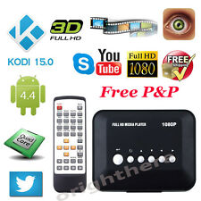 Top 1080P HD USB HDMI Multi TV Media Video Player Box TV video MMC RMVB MP3 BG