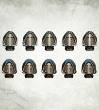 Legionary Heads Hooded (10) Bitz Bits Kromlech Resin