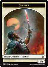 10X 1/1 Soldier Token (002/012) NM Conspiracy: Take the Crown MTG Magic Cards
