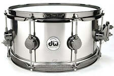 DW Collectors Stainless Steel Snare Drum 13x6.5 - Video Demo!