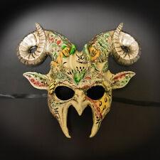 Ram Goat Animal Masquerade Mask, Men's Masquerade Mask, Rams Masquerade Mask