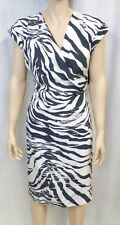 "Lafayette 148 New York ""Cassandra"" Silk Print Dress Sz. 8 w/ Tags NWT $598"