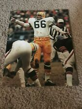RAY NITSCHKE #66 Print Photo 8x10 Vintage GREEN BAY PACKERS