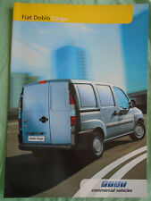 Fiat Doblo Cargo range brochure Mar 2004