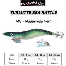 Turlutte Jig Lure FU-SHIMA SEA RATTLE Maquereau Calamar Seiches Squid Cuttlefish