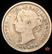 1888 Canada 10 Cents - VG - Lot#1197