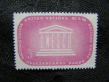1955 United Nations Honoring UNESCO - 3 cent (3¢) MNH - Scott #33