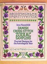 Danish Cross-Stitch Zodiac Samplers (Dover Needlework) Hauschild, Jana Paperbac