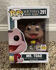 Funko POP! Mr. Toad\'s Wild Ride #291 San Diego ComicCon Exclusive 1500LE