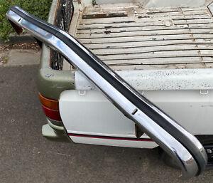 HOLDEN LH LX TORANA Front Chrome Bumper Bar With Brackets & Rubber SS SLR SL GM