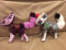 """2 Bratz Petz 10"""" Cats Poseable Plush Animal Head Bobbles, Legs & tail  Bendable"""