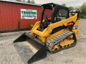 2014 Caterpillar 259D Compact Track Skid Steer Loader w/ 2 Speed Clean 1100Hrs!!