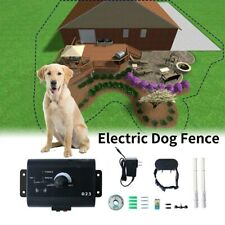 Dog Waterproof Electric Fencing Containment System Adjustable Training Collar