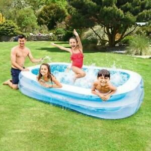 Intex Large Paddling Garden Pool Kids Fun Family Swimming Outdoor Inflatable