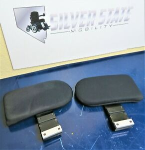 "Lateral 8""x4"" Thigh Support & Bracket for Quantum Power Wheelchair TB3 #3560"