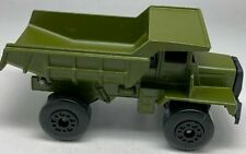 Matchbox Lesney Superfast No 28 Military Green Mack Dump Truck - VNM