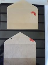 Collection of 2 Unused Postal Stationary Error 35 P Envelope of  India 1980