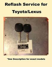 IMMOBILIZER ECU REFLASH SERVICE WITH 2 UNCUT KEYS FOR TOYOTA/LEXUS