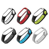 Silicone Watch Band Wrist Strap Replacement for Xiaomi Mi Band 3 Smart Watch