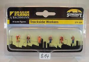 Bachmann N Spur 379-309 Figurenset Tracksider Workers OVP #814