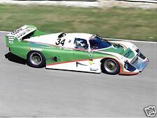 Davina Galica Costas LOS MARZO 84g PORSCHE fotografia 1985 Brands Hatch 1000km