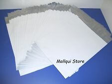 50 MAILER 24x24 WHITE POLY BAGS MAILING SHIPPING PLASTIC ENVELOPES - 2.5 Mil