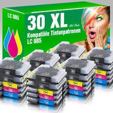 30 Druckerpatronen für Brother LC985 MFC-J 415 W
