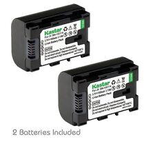 2x Kastar Battery for JVC BN-VG114 Everio GZ-E10 GZ-E100 GZ-E200 GZ-E300 GZ-E505