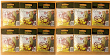 Daiichi Fat Gap Worm Hooks, Size 2/0 RED,12 Packages,Total 72 Hooks (New)