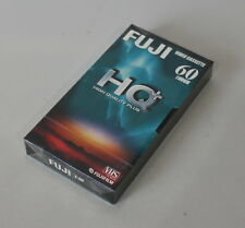 04-12-02233 VHS Video Kassette FUJI HQ+ E-60 60min / 1h NEU OVP