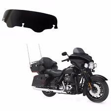 "Smoke 4"" Windshield Windscreen For Harley Electra Street Glide FLHX FLHT Touring"