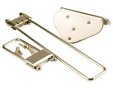 Frequensator split tailpiece níquel F. Epiphone ® Archtop semiacoustic 40' Vintage