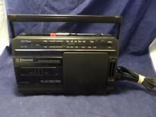 Vintage Emerson Am/Fm/ Radio Cassette Recorder Ac2380 + Free blank Cass. T2