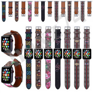 Luxury Leather Watch Band Leather for apple watch series 5 4 3 2 1 38/40 42/44m
