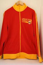 Adidas Track Jacket Houston Rockets Men's Large Red/Yellow (6807A) NBA1