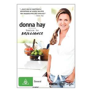 Donna Hay: Basics to Brillance DVD New Region 4 Aust. - Donna Hay,  - Free Post