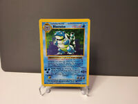 Pokemon Card Blastoise Shadowless HOLO 2/102 BASE SET